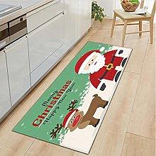 lili-nice Merry Christmas Kitchen Mat Bedroom