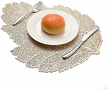 LILICEN Placemat for Dining Table Coasters Lotus