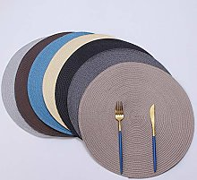 LILICEN PP Dining Table Mat Woven Placemat Pad