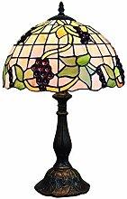 LILIS Desk Lamp able lamp Tiffany Style Purple