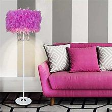 Lilishangpu Floor Lamp Floor Lamp E27 LED Crystal