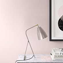 Lillian 40cm Desk Lamp Hykkon Finish: Taupe