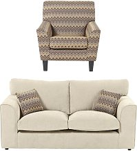 Lilly 2 Piece Sofa Set Zipcode Design Upholstery: