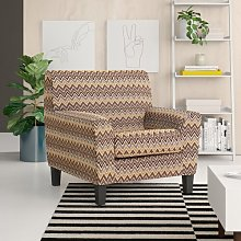 Lilly Armchair Zipcode Design Upholstery: Taupe