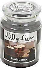 Lilly Lane Candles 18oz Jar (Black Ginger)