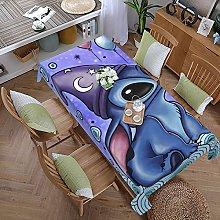 Lilo Cartoon Stitch 59 Inches X 107.9 Inches Color