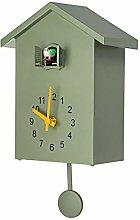 LilyJudy Modern Bird Cuckoo Quartz Wall Clock Home