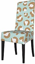 Lilyo-ltd Dining Chair Slipcovers,Leopard Spots