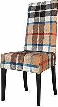 Lilyo-ltd Dining Chair Slipcovers,Thompson Camel