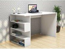 Limber Desk - with Shelves - for Office, Bedroom -