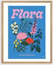 Limbo and Ginger - 'Flora' Framed Print,