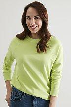 Lime Green Boxy Sweatshirt - 10