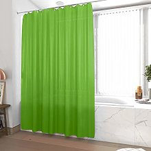 Lime Green Shower Curtain 180 x 200 cm
