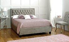 Limelight Rhea Fabric Bed Frame, Double, Velvet