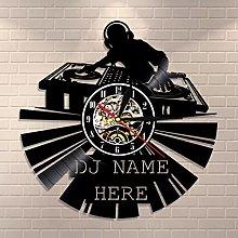 LIMN DJ Vinyl Record Clock Custom Modern Wall