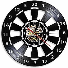 LIMN Record Wall Clock Dart Board Design