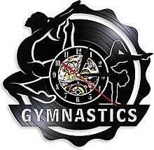 LIMN Record Wall Clock Gymnastics Tumbling Wall