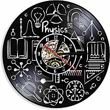 LIMN Record Wall Clock Physics Wall Clock Study