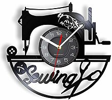 LIMN Record Wall Clock Sewing Vinyl Record Wall