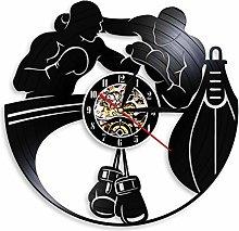 LIMN Wall Clock Boxing Vinyl Record Wall Clock