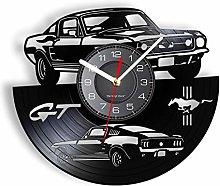LIMN Wall Clock GT Premium Fastback Sports Car