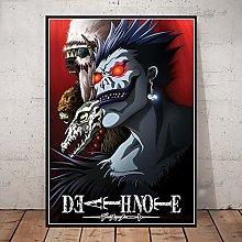 linbindeshoop Death Note Posters Canvas Print