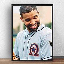 linbindeshoop Drake Poster Prints Canvas Print