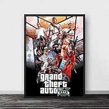 linbindeshoop GTA 5 Poster Canvas Print Paintings