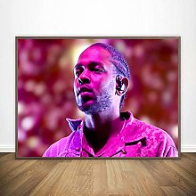 linbindeshoop Kendrick Lamar Poster Canvas Print