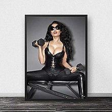 linbindeshoop Nicki Minaj Poster Canvas Print