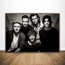 linbindeshoop One Direction Poster Canvas Print