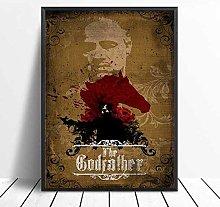 linbindeshoop The Godfather Posters Canvas Print
