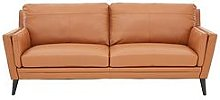 Lincoln Leather 3 Seater Sofa