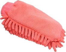 Lincoln Microfibre Grooming Mitt (One Size) (Red)