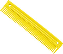 Lincoln Plastic Comb (One Size) (Yellow)