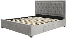 Lincolnwood Upholstered Bed Frame Wrought Studio