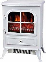 Lincsfire 1850W Freestanding Electric Fires Modern
