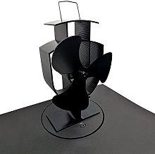Lincsfire 3 Blade Heat Powered Stove Fan Warm Air
