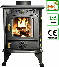 Lincsfire - Defra Approved 4.2kw Cast Iron Wood