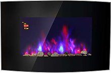 Lincsfire Harby 2KW Electric Fireplace Wall