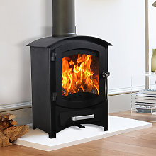 Lincsfire Wellingore 6.22KW Modern Log Burner