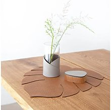 Lind Dna - Lind DNA Tischset L Monstera Leaf - 420