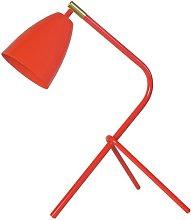 Linda 45cm Desk Lamp Mercury Row Finish: Orange