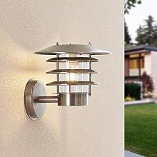 Lindby Dimara solar-powered LED outdoor wall light