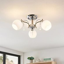 Lindby Feodora ceiling light with crystal details
