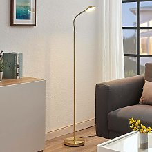 Lindby - LED Floor Lamp 'Giacomo' in Gold