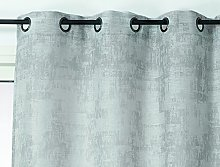 Linder Concrete Effect Net Curtain, Polyester, 140