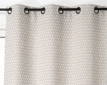 Linder Curtain 140 x 260 cm Cotton, Cotton, beige,