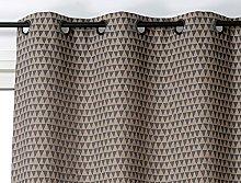 Linder Curtain 140 x 260 cm Cotton, Cotton, gray,