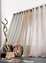 Linder Curtain Jasmin, with Eyelets white
